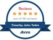 Avvo 5 Star Rated Personal Injury Lawyer in San Tan Valley AZ Timothy Tobin