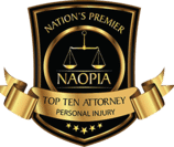 NAOPIA nation's premier ten top personal injury attorneys