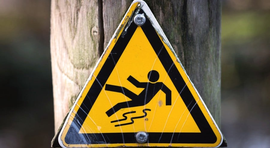 Slip and fall premises liability lawsuit in Mesa Arizona