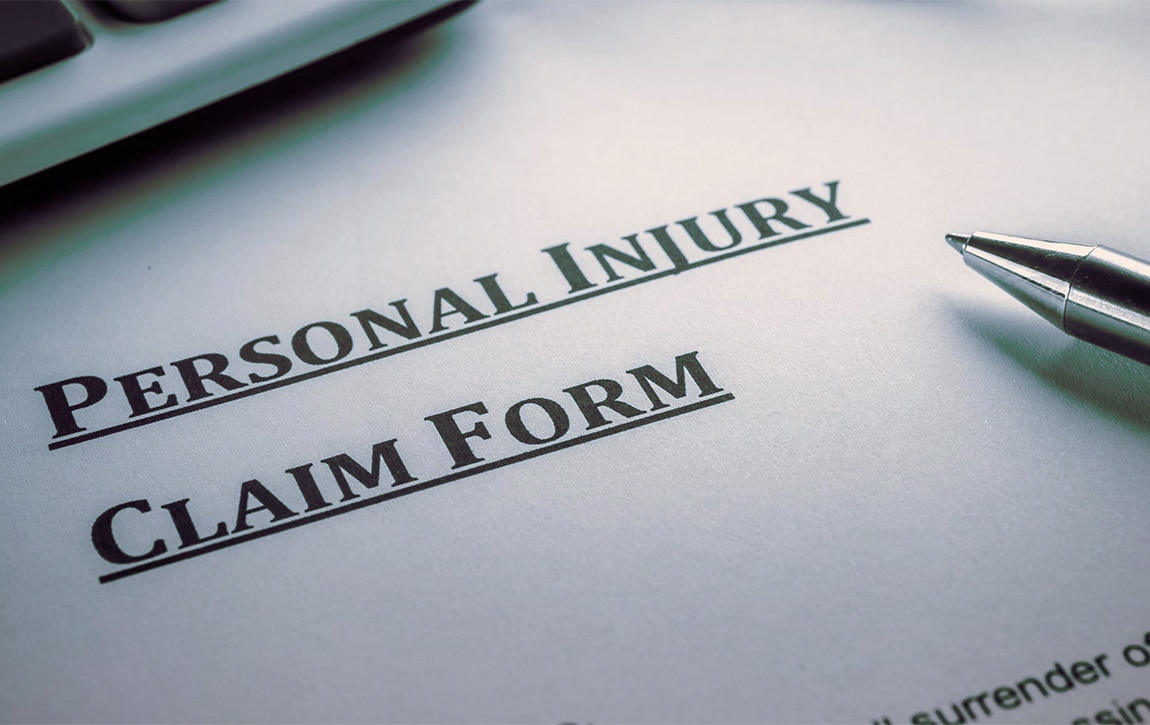Gilbert motorcycle personal injury claim form